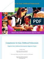 Competencies for Early Childhood Professionals