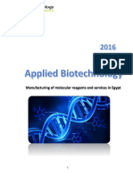Applied Biotechnology Catalogue