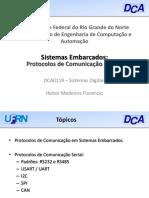 DCA0119 11 SistemasEmbarcados Comunicacao Serial