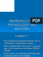 Reproductive Physiology and Anatomy