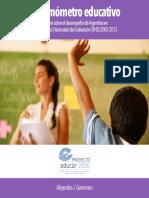Informe ONE 2005-2013 (Parte IV)