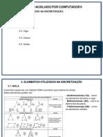 Projeto auxiliado por computador V3 NOTAS DE AULA