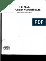 Construcción y Arquitectura de Sert