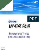 [2] SV8100 Spa Training (System Installation) (LASC)
