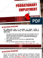 Probationary Employment
