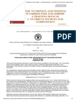 The Nutrition and Feeding of Farmed Fish and Shrimp - A Training Manual 2