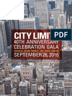 City Limits 40th Anniversary Gala Journal