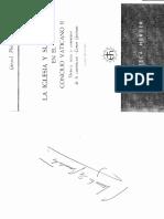 GERARD PHILIPS, La Iglesia y Su Misterio en El Vaticano II. Pag 1 a 87 Tomo II