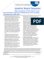 SCR Summary Delimitation