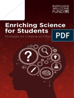 Enriching Science for Students