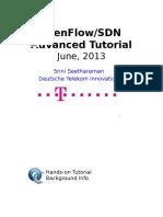 Advanced OpenFlowTutorial Meetup June 2013