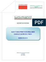 Rapport Dxaudit INDH 2010