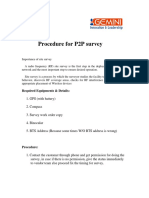 01 Ptp Survey Procedure