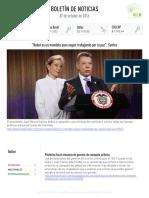 Boletín de noticias KLR 07OCT2016
