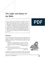 Origin of Bible