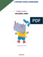 SAMPLE Del Libro_Che Rabbia, Nino! Di Isabella Paglia MONDADORI