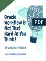 OracleWorkflowIsNotThatHardAsYouThink ArunkumarMenon v 0