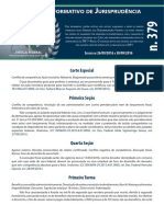 Boletim Informativo de Jurisprudência n. 379 - 061016
