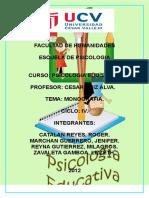 Monografia Quemar CD Padres e Hijos Amigos o Enemigos