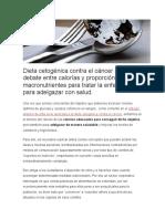 Dieta Cetogénica Contra El Cáncer 5