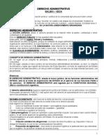 Derecho Administrativo - Resumen de Clase 1 Parcial
