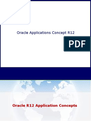 Oracle R12 Application Concepts | Oracle Database | Web Server