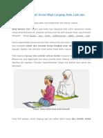 Bacaan Doa Setelah Sholat Wajib Lengkap Arab