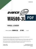 WA500-3 LK SM CEBD005402