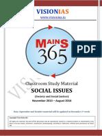 04 Social Issues Part 1 [Vision 365 Mains 2016]