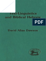 Textlinguistic and biblical hebrew Dawson.pdf