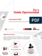 Beca Doble Oportunidad