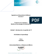 Unidad 1 Actividades de AprendizajeDGTI