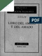 Raimundo-Lulio-libro Del Amigo y Del Amado
