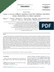 Impact of Flexible Emergent Vegetation on the Flow Turbulence and Kinetic