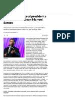 Nobel Per La Pace Al Presidente Della Colombia Juan Manuel Santos - Repubblica