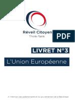 Livret n°3 - L'Union Européenne