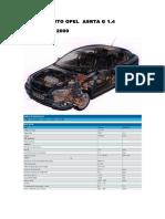 Manual Auto Opel Asrta g 1.4 16v Parte 1