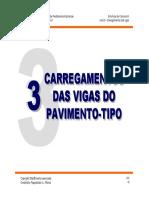03 - Carregamento Das Vigas