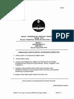 Soalan Percubaan SPM 2016 Negeri Kedah K2