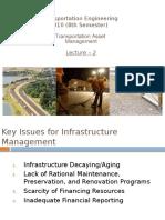 Lecture 2 - Transportation Asset Management