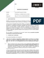 152-16 - Univ.nac.Cañete-Arbitraje y Adelanto Directo en Obra