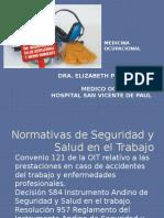 PRESENTACION Salud Ocupacional 2015