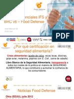 Nuevos Referenciales Ifs y Brc v6 Food Defense Oca Cert