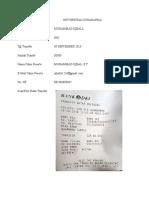 Data Dan Bukti Pembayaran Imc Ipb a.n Muhammad Iqball