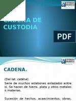 16 Cadena de Custodia