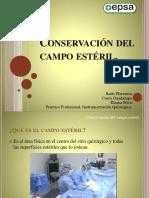 Conservación Del Campo Estéril