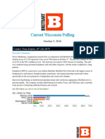 Wisconsin Polling Oct 5