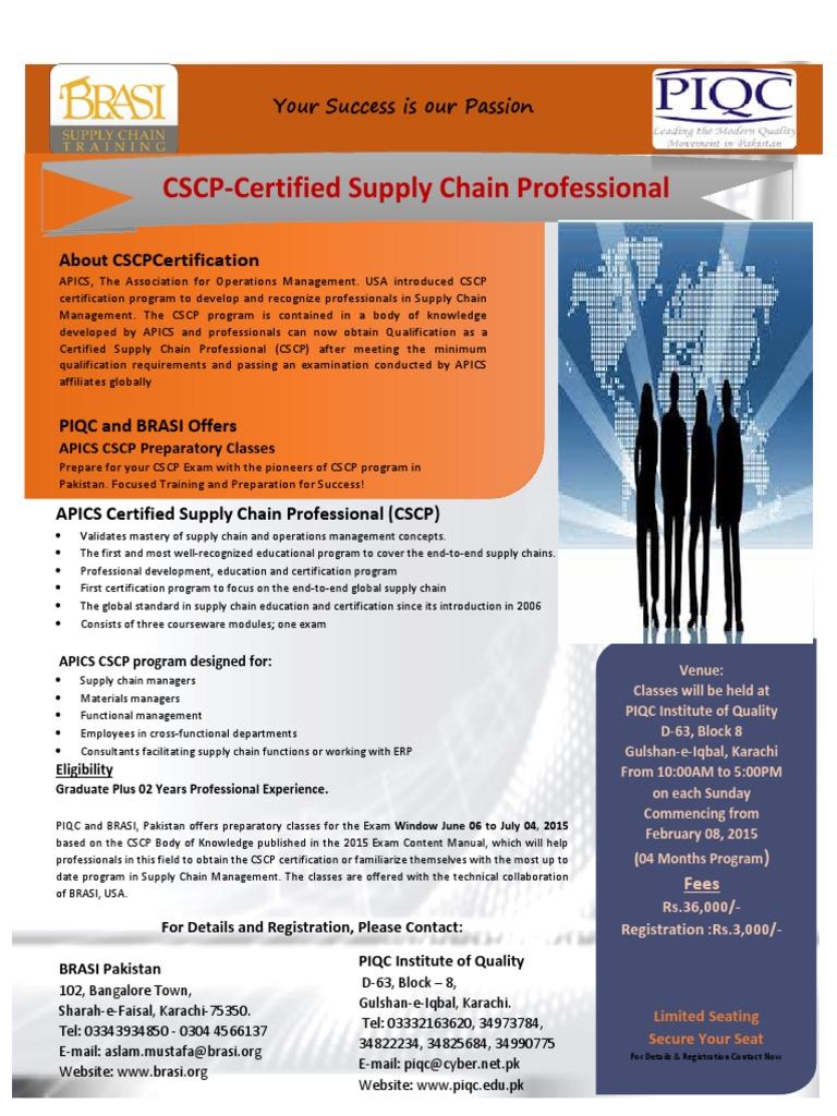 Cscp Flyer Pk