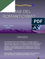 Ramas Del Romanticismo.