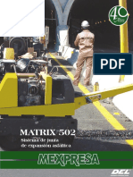 Junta Asfaltica Matrix 502